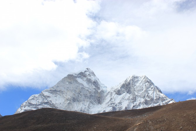 Everest panoramic view